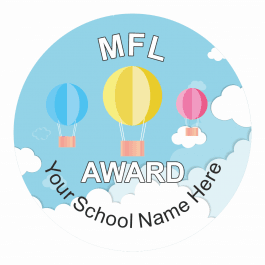 MFL Travel Award Stickers