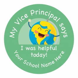 My Vice Principal Says Stickers