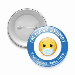 Mask Exempt Emoji Button Badges