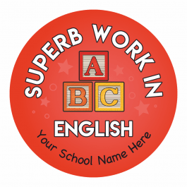 English Primary Stickers