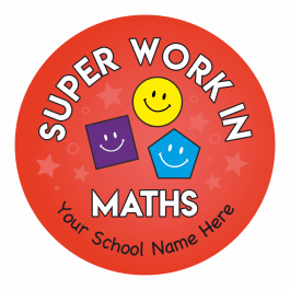 Maths Primary Stickers