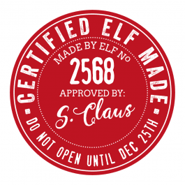 Certified Elf Made Stickers