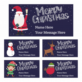 Merry Christmas Gift Labels