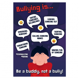 Bullying is... Anti-Bullying Poster