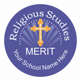 Religious Studies Starburst Stickers