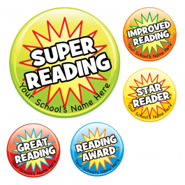 Starburst Reading Stickers