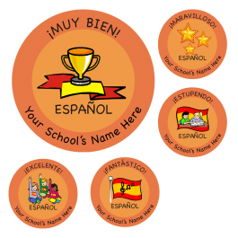 Primary Spanish Stickers