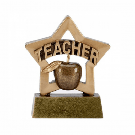 Teacher Mini Star Trophy