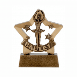 Ballet Dance Mini Star Trophy
