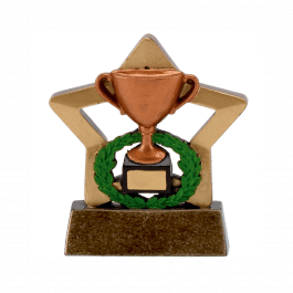 Bronze Trophy Mini Star Trophy