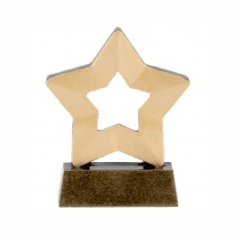 Gold Mini Star Trophy