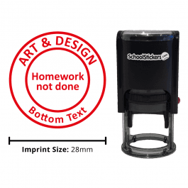 Art Stamper - Homework Not Done