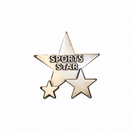 An image of Sports Star Badge