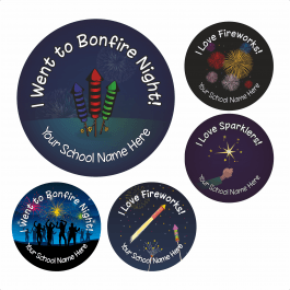 Bonfire Night Stickers