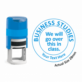 Business Studies Stamper - We Will Go Over This In Class