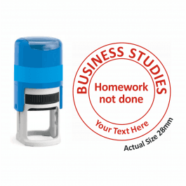 Business Studies Stamper - Homework Not Done