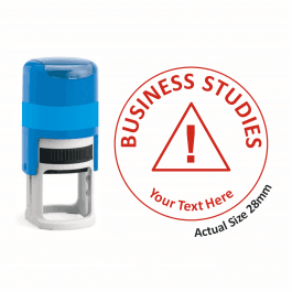 Business Studies Stamper - Warning Triangle