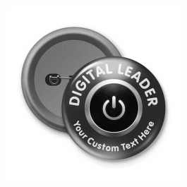 Digital Leader Customised Button Badge
