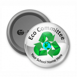 Eco Committee - Customised Button Badge