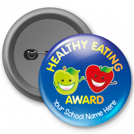 Healthy Eating Award - Customised Button Badge