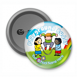 Playground Buddy - Customised Button Badge