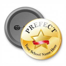 Prefect - Customised Button Badge