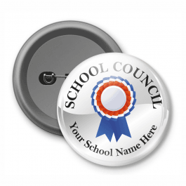 School Council - Customised Button Badge