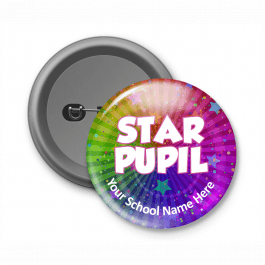 Star Pupil - Customised Button Badge