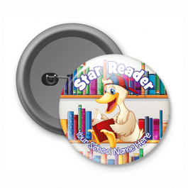 Star Reader - Customised Button Badge