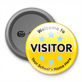 Visitor - Customised Button Badge