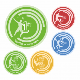 Commonwealth Games Sports Day Themed Stickers