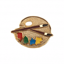 An image of Lapel Badge - Art Palette