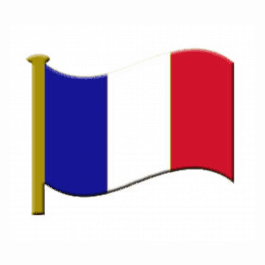 An image of Lapel Badge - French Flag