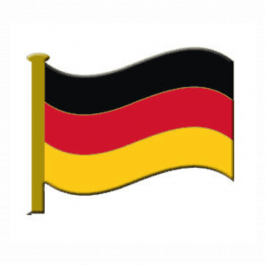 An image of Lapel Badge - German Flag