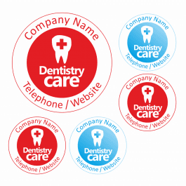 An image of Dentistry Care Stickers - Large Pack