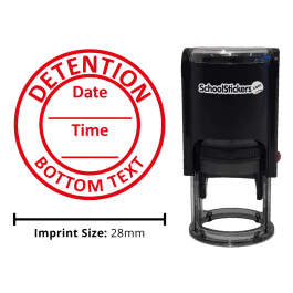 Personalized Grading Stamp - Detention