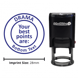 """Your Best Points Are"" Drama Teachers Marking Stamp"