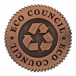 An image of Eco Council Round Lapel
