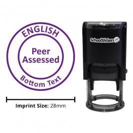 English Stamper - Peer Assessed