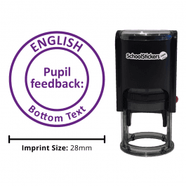 English Stamper - Pupil Feedback