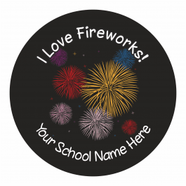 Fireworks Stickers