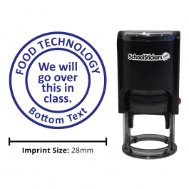 Food Technology Stamper - We will Go Over This in Class