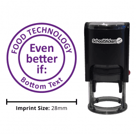 Food Technology Stamper - Even Better If