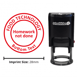 Food Technology Stamper - Homework Not Done