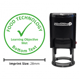 Food Technology stamper - Learning Objective Met