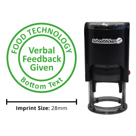 Food Technology Stamper - Verbal Feedback Given