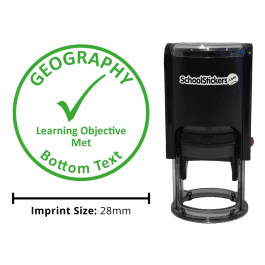 Geography Stamper - Learning Objective Met
