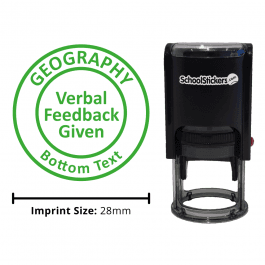 Geography Stamper - Verbal Feedback Given