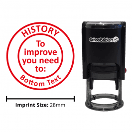 History Stamper - To Improve You Need To