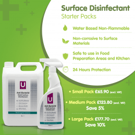 ULTIMAS Multi-Surface Disinfectant Starter Pack